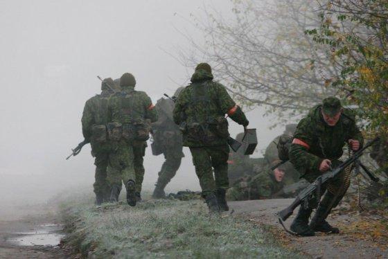 """Alvydo Januševičiaus nuotr./Šiauliuose vyksta karinės pratybos """"Saulės kirtis 2014"""""""