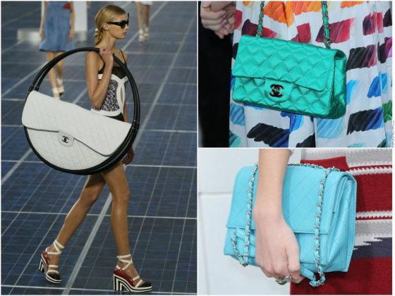 """""""Scanpix"""" nuotr./""""Chanel"""" rankinių modeliai."""