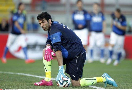 """""""Scanpix"""" nuotr./Italijos rinktinės vartininkas Gianluigi Buffonas."""