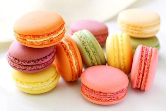 Shutterstock nuotr./Prancūziški morenginiai sausainiai