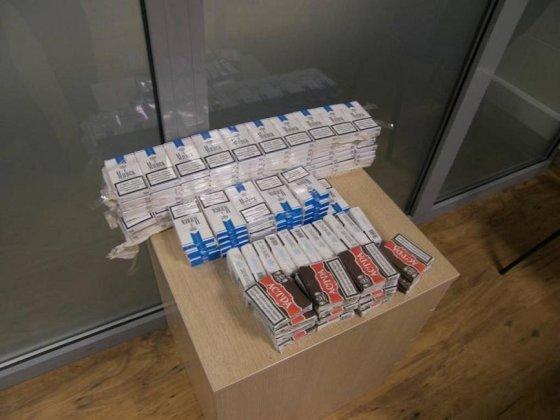 Valstybės sienos apsaugos tarnyba/Kontrabandinės cigaretės