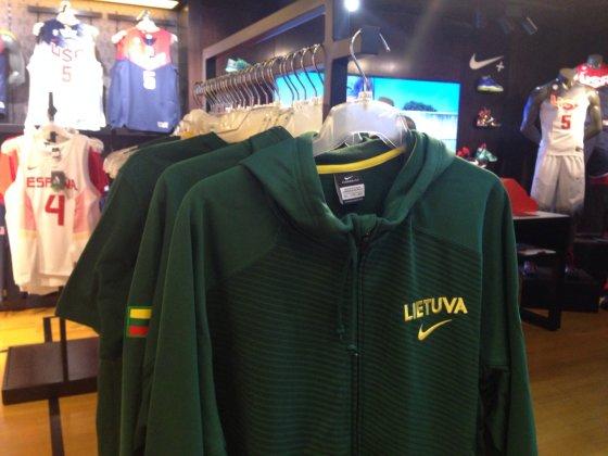 Sportinės aprangos parduotuvė Londone