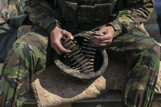 """Reuters""/""Scanpix"" nuotr./Ukrainos karys netoli Slovjansko miesto"