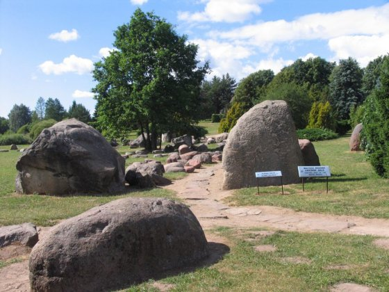 Salantų regioninio parko direkcijos archyvo nuotr./Mosėdžio akmenų muziejus