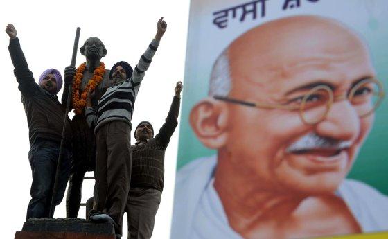 "AFP/""Scanpix"" nuotr./Mahatma Gandhi"