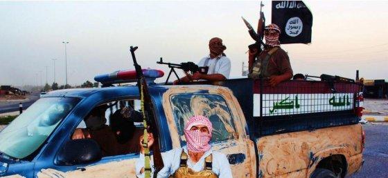 """AFP/""""Scanpix"""" nuotr./ISIL teroristai Irake"""
