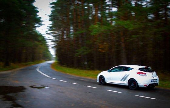 "Irmanto Gelūno/15min.lt nuotr./""Renault Megane RS 275 Trophy"""