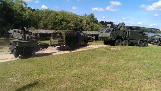 """Organizatorių nuotr./""""Army day"""" stovyklos pramogos"""