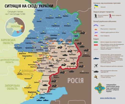 unian.net nuotrauka/Situacija rytų Ukrainoje spalio 7 d.