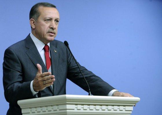 """""""Reuters""""/""""Scanpix"""" nuotr./Turkijos ministras pirmininkas Recepas Tayyipas Erdoganas"""