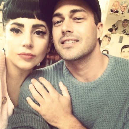 """Instagram"" nuotr./Lady Gaga ir Tayloras Kinney"