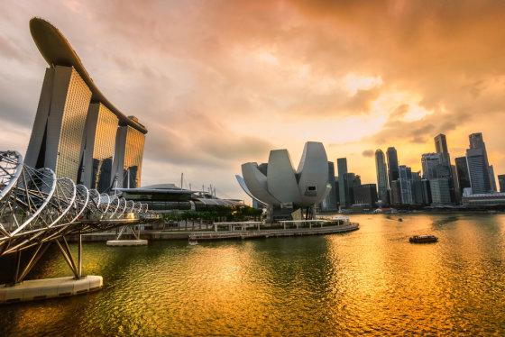 Shutterstock nuotr./Singapūro sostinė Singapūras