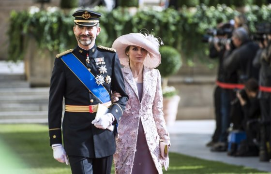"""""""Reuters""""/""""Scanpix"""" nuotr./Princas Felipe ir princesė Letizia"""