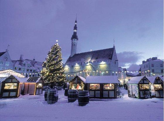 Welcome to Estonia nuotr./Kalėdų turgus Taline