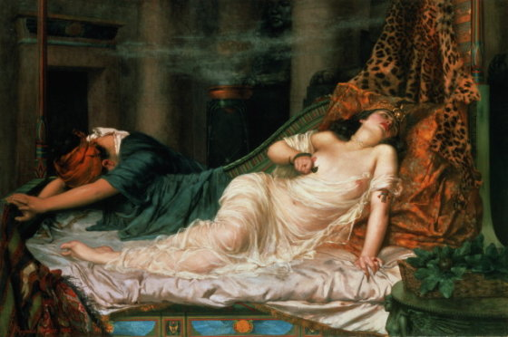 wikimedia.org nuotr./Kleopatros mirtis
