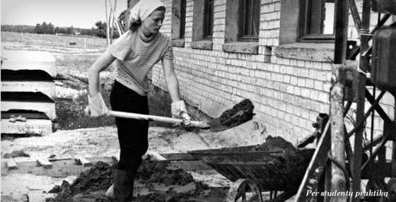 grybauskaite2014.lt nuotr./D.Grybauskaitė studijų metais