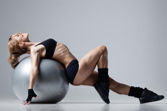 Shutterstock nuotr./Sportiška mergina
