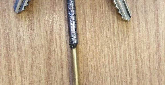 Ramygalos gatvėje rasti raktai – savininko ieško Panevėžio policija