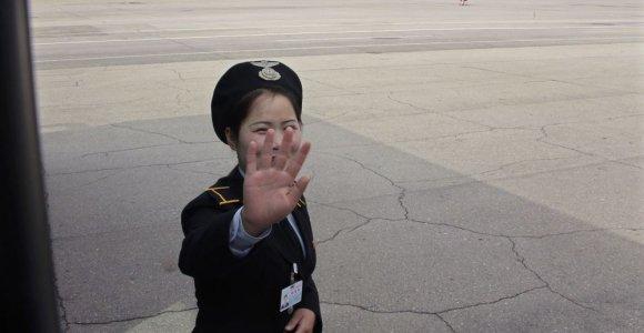 Šiaurės Korėjos keleivinis laineris dėl gaisro nutupdytas Kinijoje