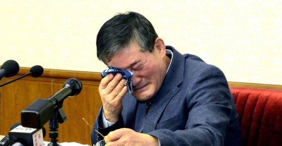 Šiaurės Korėja amerikietį nuteisė 10 metų bausme sunkaus darbo stovykloje