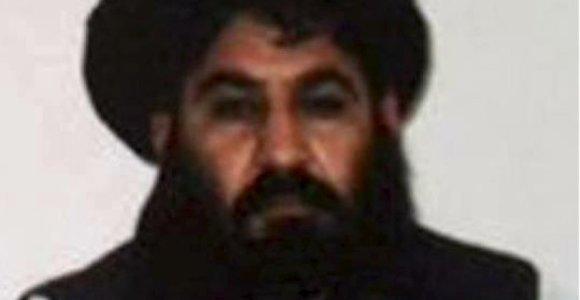 JAV skelbia nukovusi Talibano lyderį Akhtarą Mansourą