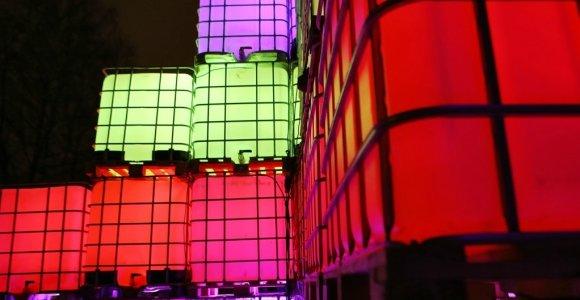Vasario vidury Klaipėdoje – šviesų festivalis