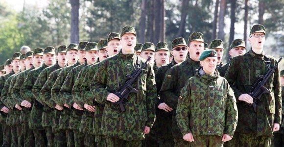 Nuolatinės privalomosios pradinės karo tarnybos karių priesaika Lietuvos Respublikai