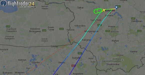 Į Alikantę išskridęs lėktuvas dėl susivaidijusių baltarusių grįžo į Kauną