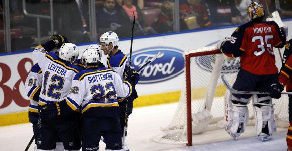 "NHL lygoje – 31-a Sent Luiso ""Blues"" pergalė"