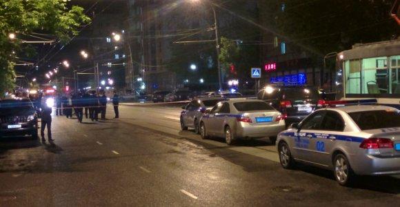 Maskvoje nušautas įkaitų paėmęs banko plėšikas