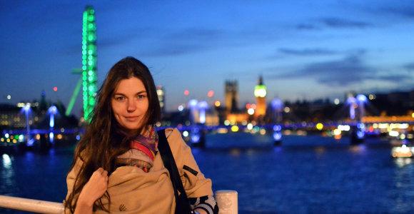 """Londone gyvenanti E.Vinauskaitė: """"Nėra nuolat sėkmės lydimų žmonių. Tik tie, kurie nepasiduoda"""""""
