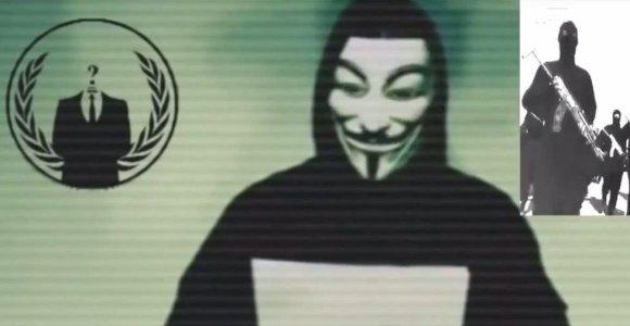 """""""Anonymous"""" tvirtina """"nulaužę"""" 20 tūkst. IS paskyrų """"Twitter"""" tinkle"""