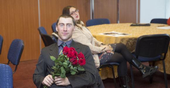 Į susitikimą su Monika Šalčiūte atėjo tik trys gerbėjai