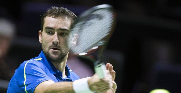 Marinas Čiličius pergale pradėjo turnyrą Roterdame