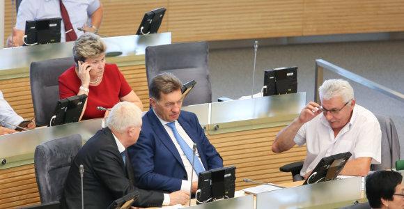 Kas dirba, kas vasaroja: nesusirinkus pakankamai Seimo narių, nepavyko priimti pensijų reformos