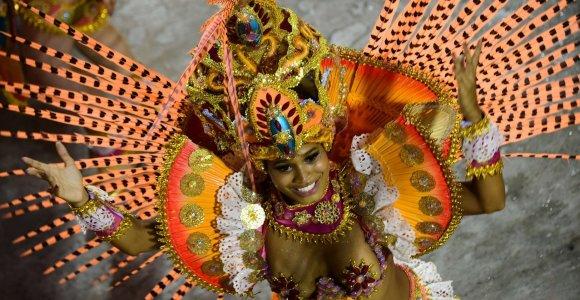 Kai miestą užvaldo samba: triukšmingasis Rio de Žaneiro karnavalas