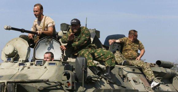 Kijevas pradėjo skelbti Ukrainoje veikiančių Rusijos karinių dalinių sąrašus