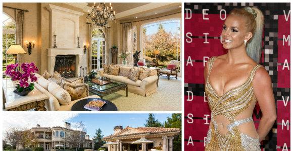 B.Spears už 7,4 mln. dolerių įsigijo įspūdingą vilą