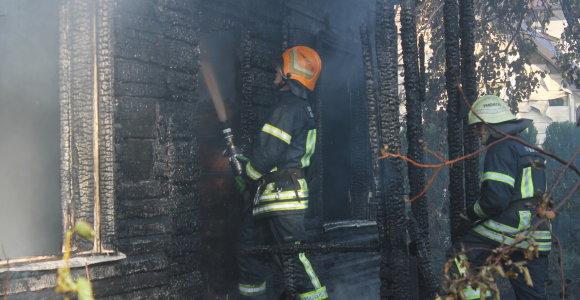 Pirmąją Kalėdų dieną Biržuose sudegė moteris