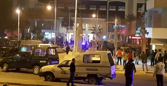 Egipto turizmo ministras aplankys pultą Hurgados viešbutį