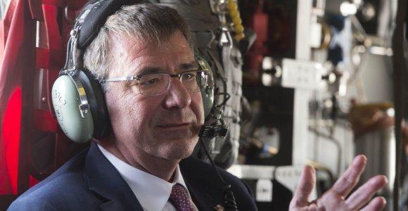 Pentagono vadovas atskrido į Afganistaną