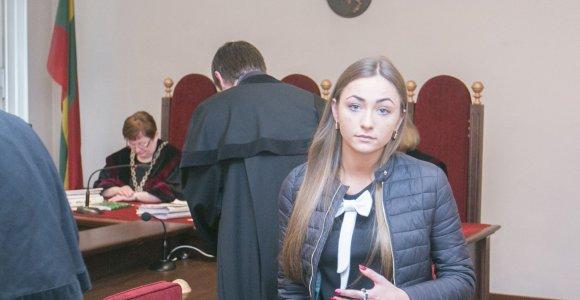 Avarijos T.Narbuto gatvėje byla: ar pėsčiąją pražudžiusi Ieva Kazlaitė nusikratys teistumo?