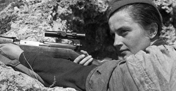 Liudmila Pavličenko – Ukrainos snaiperė, naciams kėlusi pagarbią baimę