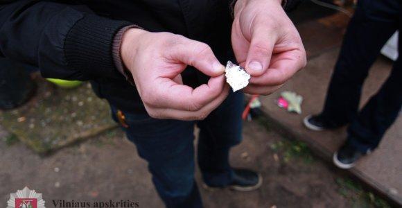 Vilniaus Lazdynų rajone sulaikytos dvi narkotikų platintojos