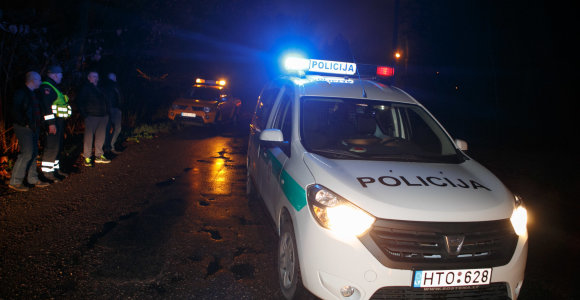 Į avariją patekęs Kauno patrulis atsisakė tikrintis blaivumą
