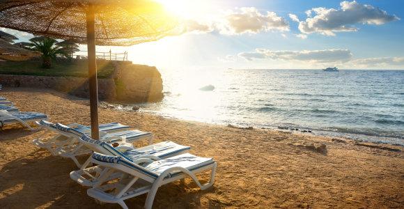 Pajamos iš turizmo Egipte nukrito 66 proc., tačiau šalis tikisi susigrąžinti turistus