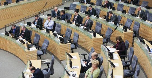 Neeilinė Seimo sesija prasidės vasario 17-ąją