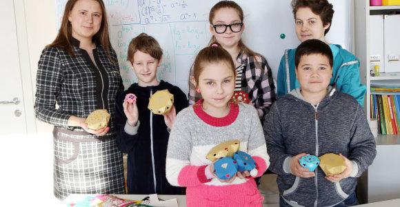 Vietoje pabodusių Valentino dienos širdelių Kaune moksleiviai gamino briliantus