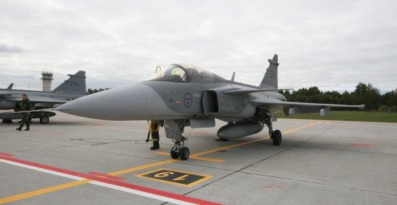 NATO naikintuvai praėjusią savaitę lydėti orlaivių nekilo