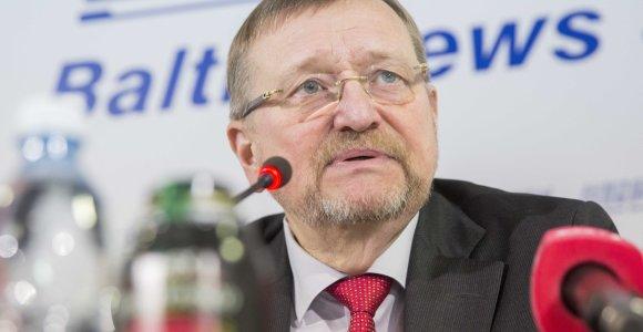 J.Bernatonis: dėl S.Stripeikos atleidimo iš Registrų centro turėtų spręsti įstaigos vadovas
